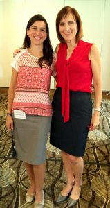 S viceprezidentkou Inštitútu HypnoPôrodu - Dr. Vivian Keeler